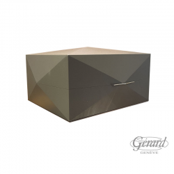 HUMIDOR BOIS GRIS POINTE...