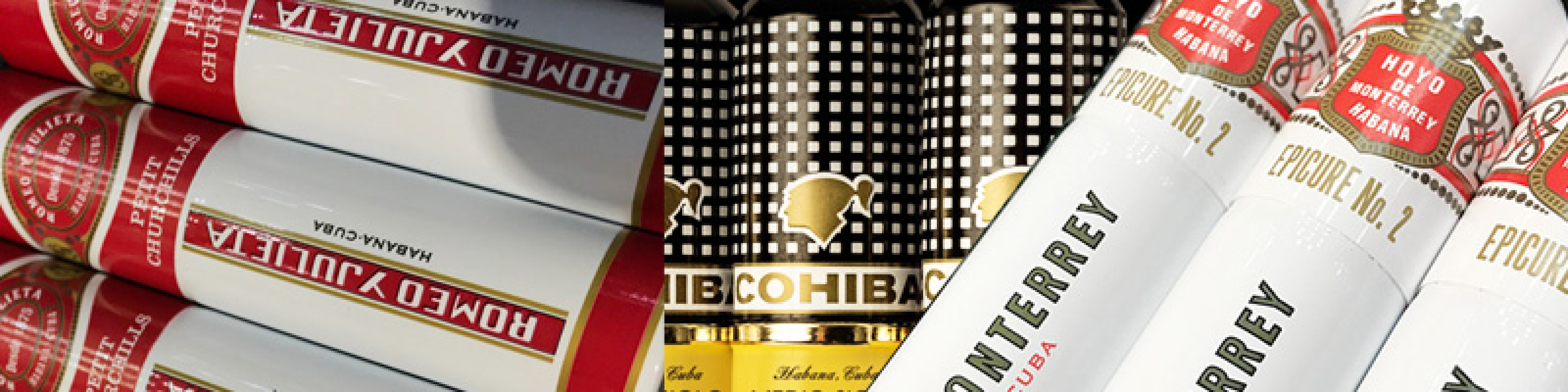 Case of 3 cigars