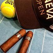 #jeu #set #et #match @banque_eric_sturdza_genevaopen @tc_geneve #tennis #tournament @world.of.gerard.cigars.geneva #open #air #cigar #lounge