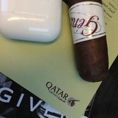 #back #from #qatar #with @qatarairways #after #two #conferences #on #cigars @marsamalaz #today #some #good #music #with @iphonesty #and #a #nice #cigar @world.of.gerard.cigars.geneva #switzerland #for #all #of #you #have #a #nice #weekend #vahe